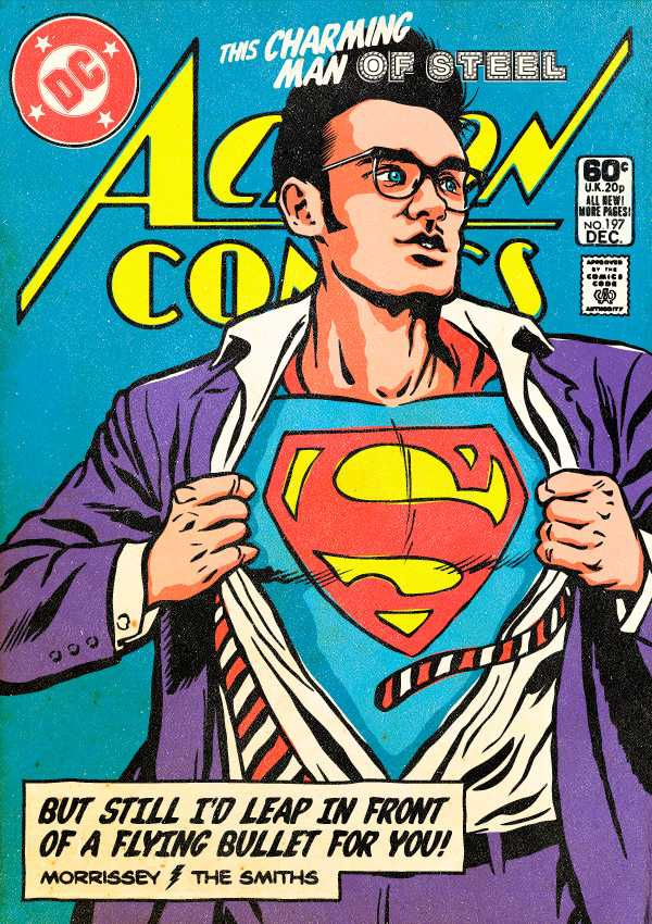 Morrissey (The Smiths) as Superman
