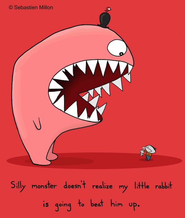 silly monster