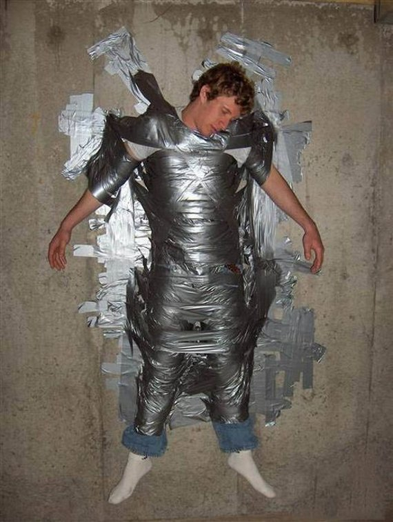 Some Useful But Mostly Ridiculous Duct Tape Uses.