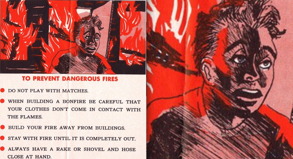 You Will Never Sleep After These 1950's Kids Safety Manual Scenes!