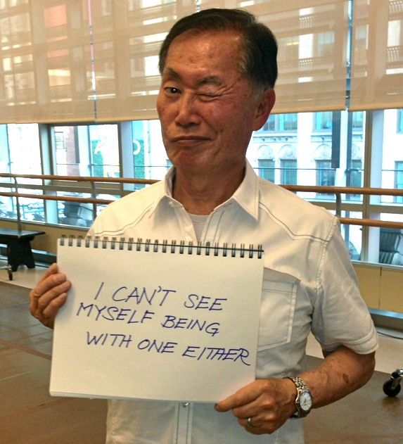 George Takei Responds To Anti-Gay Protesters