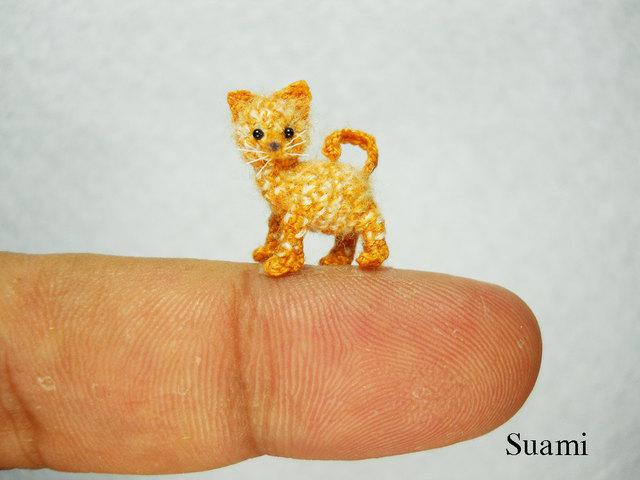 Tiny Crochet Cat