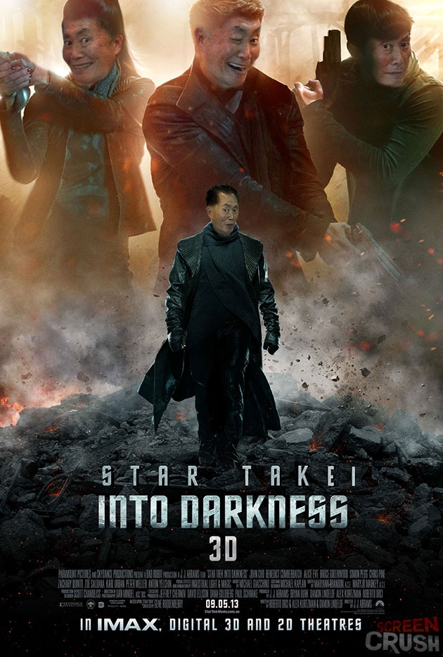 George Takei as Every Character in 'Star Trek Into Darkness'