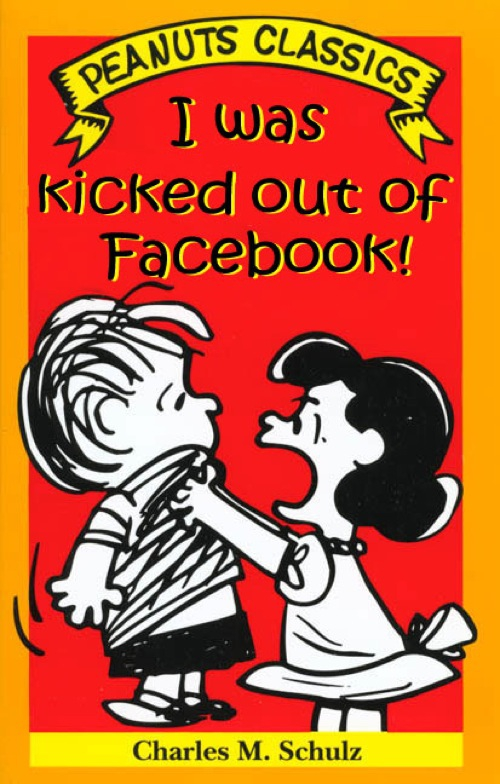 I was kicked out of Facebook!