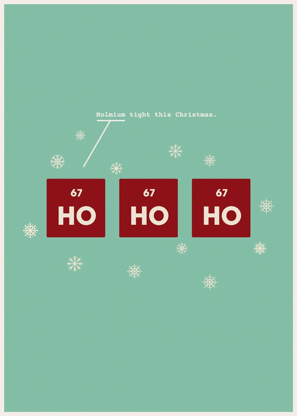 Holmium tight this Christmas