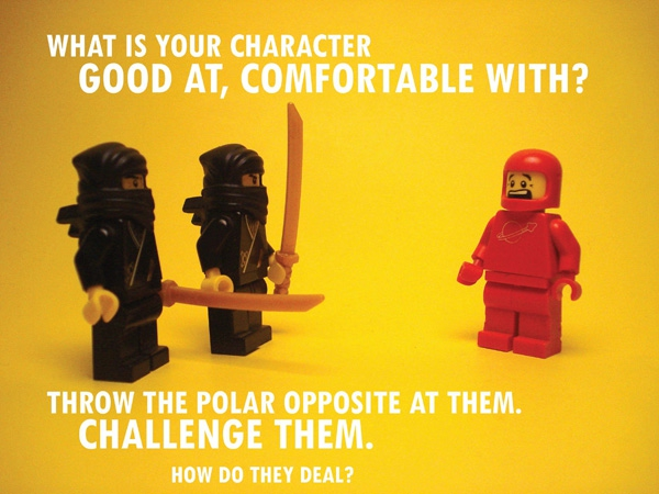 What is your character good at, comfortable with?