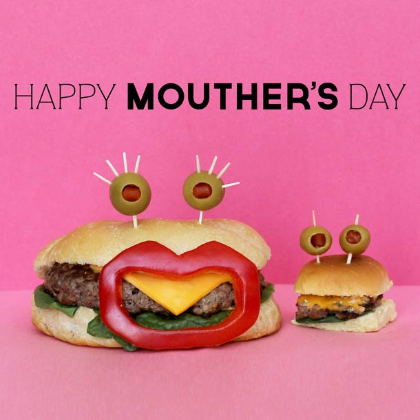 "Nothing says ""I love you, Mom"" like Sandwich Monsters."