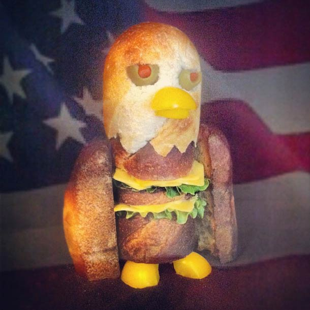 Happy Memorial Day from an American Cheese-gle.