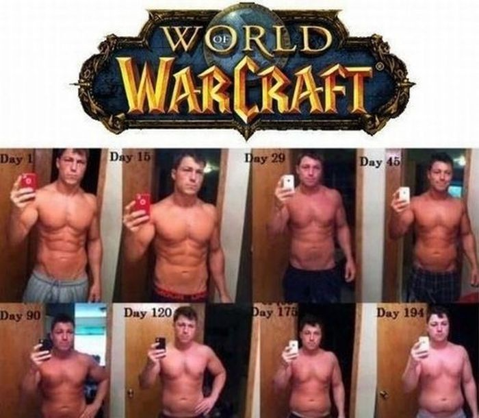 The result of world of warcraft