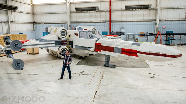 LEGO Life-Size X-Wing Fighter