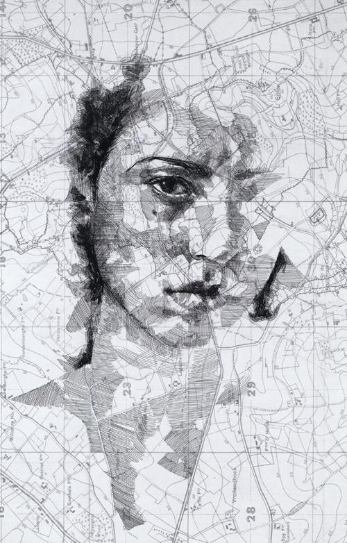 Amazing World war I Map Portraits by Ed Fairburn от Marinara за 24 may 2013
