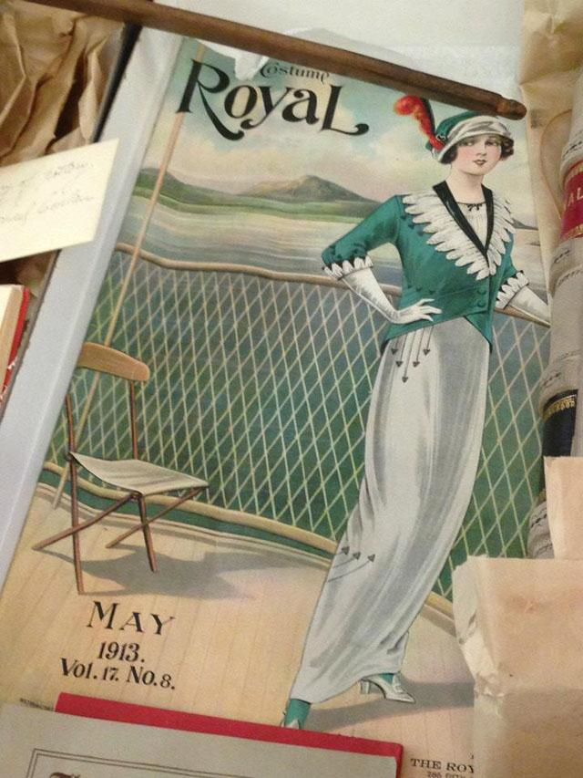 100 years old magazine