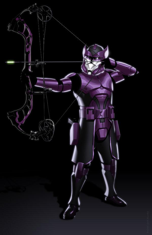 Avengers Reimagined as Star Wars Clone Troopers