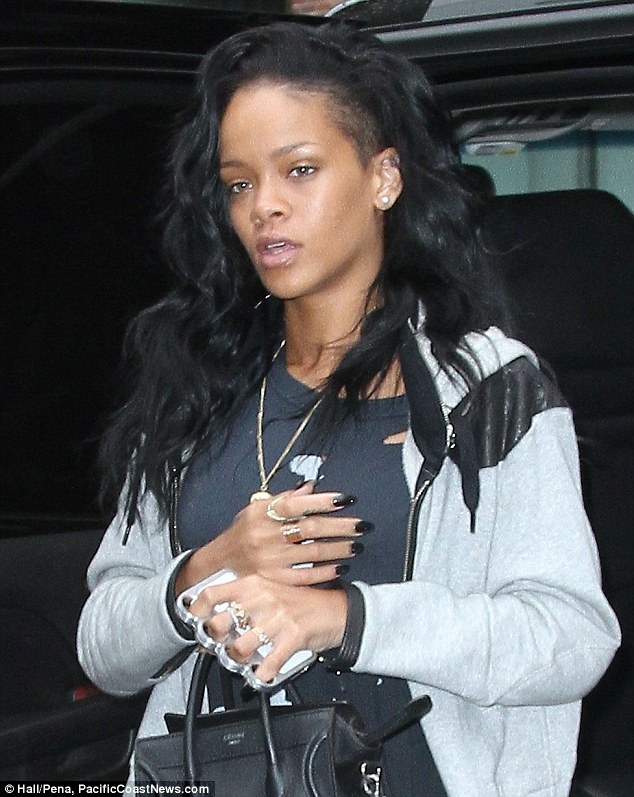 The knucklebuster iPhone case became instantly popular when Rihanna was spotted with one in New York in May of 2012
