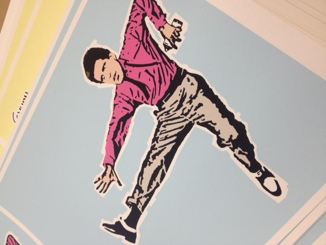 """Ted Dancin"" (art prints)"