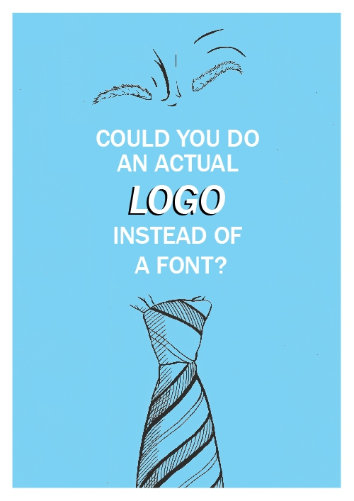 Could you do an actual logo?