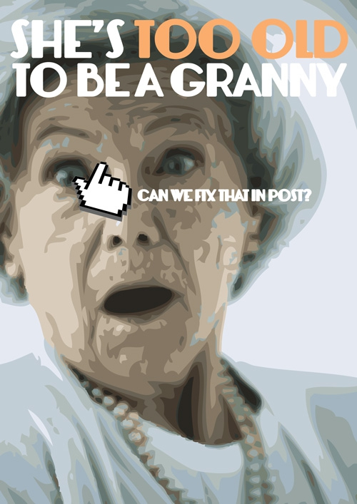 She's too old to be a granny