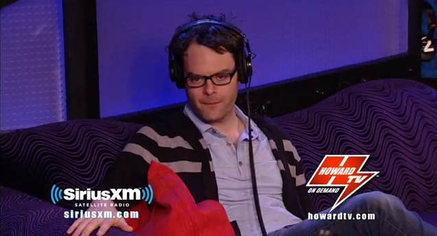 Bill Hader Tells Howard Stern About Justin Bieber's Entourage