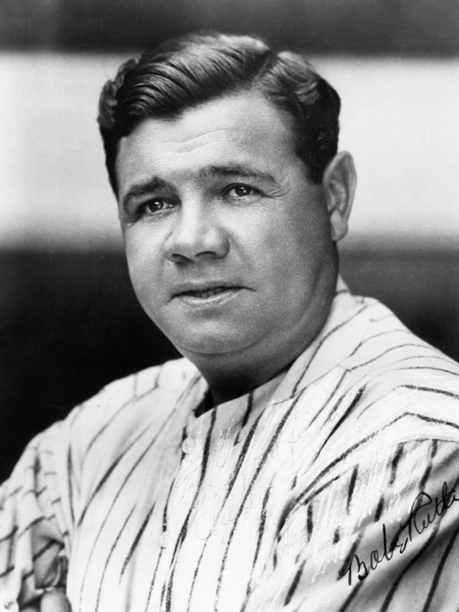 Babe Ruth: I Had a Better Year