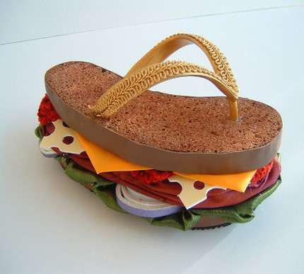 Sandwich Slippers