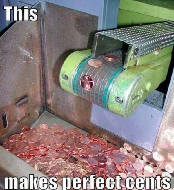 It makes perfect cents