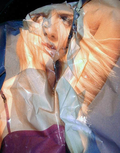 Crumpled Paper by Artist Ofer Wolberger