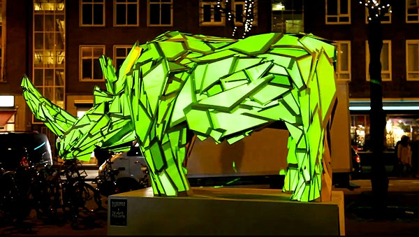 Illuminated Animals, Dazzlingly Brought To Life | So Bad So Good