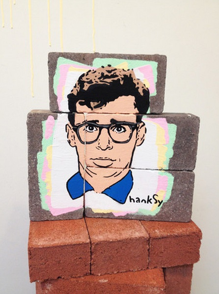Hanksy's Pop Culture Mashup Art Takes Over Gallery 1988