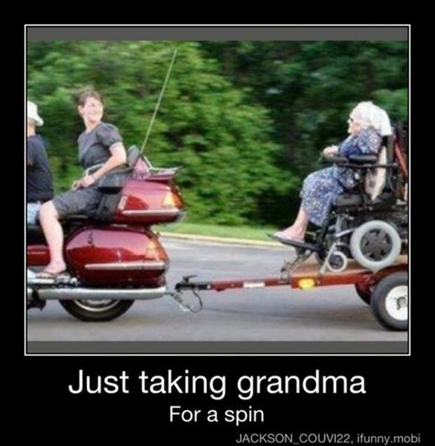 Towing Grandma