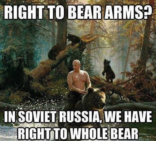 Russia! Right To A Whole Bear