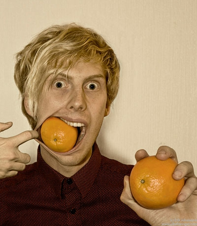 """Oranges are best whole"""