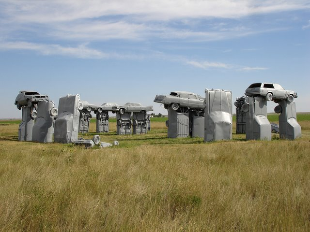 18. Mystic Carhenge near Alliance, Nebraska, USA