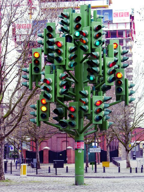2. Traffic Light Tree, London, UK