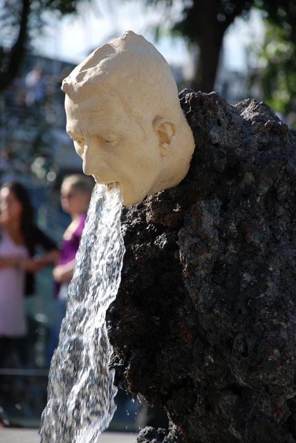 1. Vomiting Fountain Sculpture, London, UK