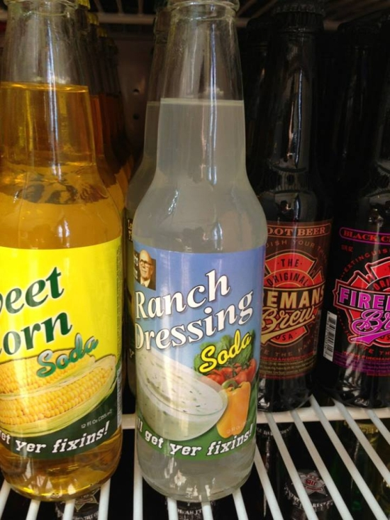 Ranch Dressing Soda