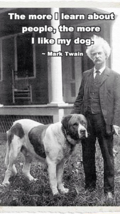 Mark Twain On people