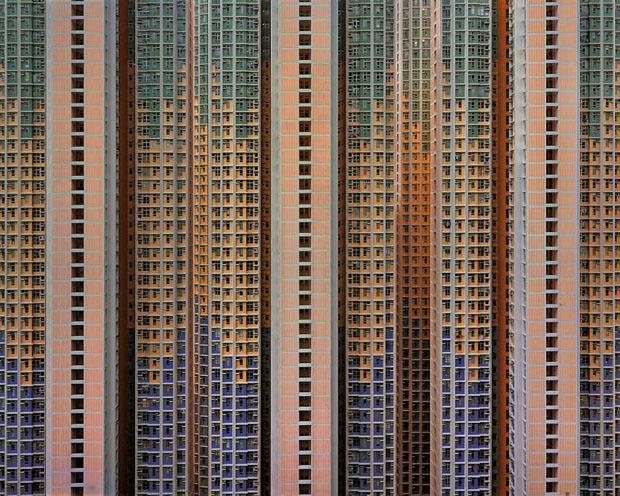 Hong Kong Apartment Towers, China