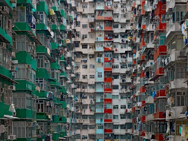 Patterns of Hong Kong Apartment Towers