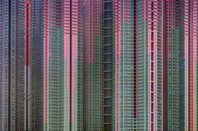 Density of Hong Kong Apartment Towers