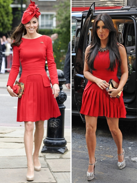 Kate Middleton Vs Kim Kardashian
