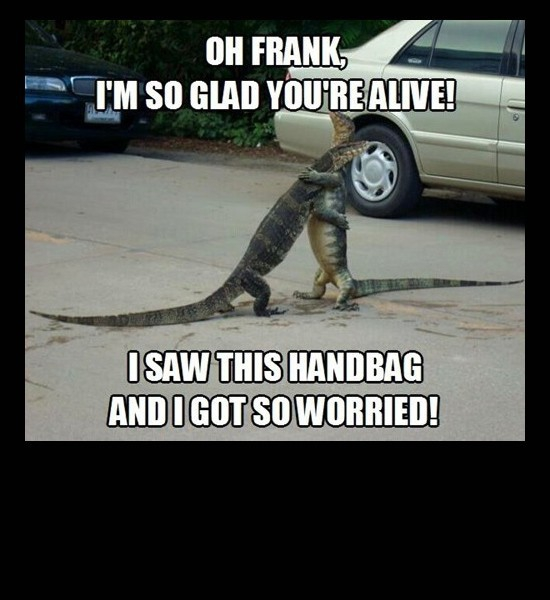 Thank Goodness Your Safe Frank!