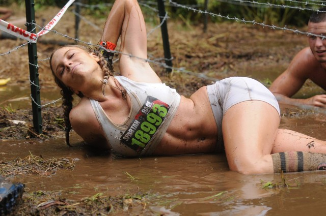 Extremely Photogenic Spartan Race Girl