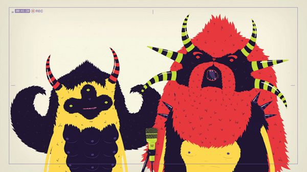 Colourfully Cute Monsters Play Their Favourite Cover Songs