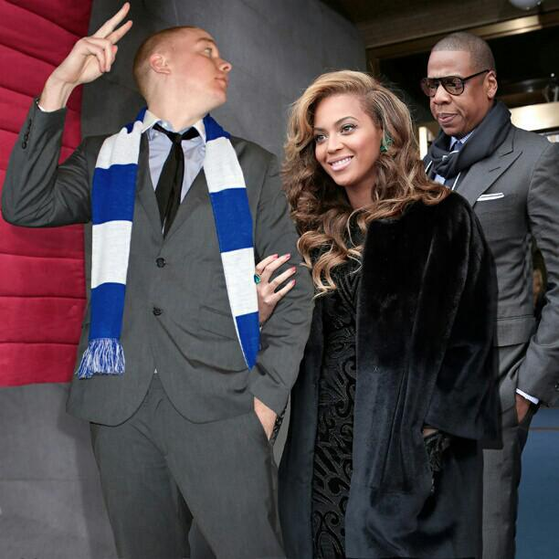 What up? (Jay-Z and Beyoncé Knowles)