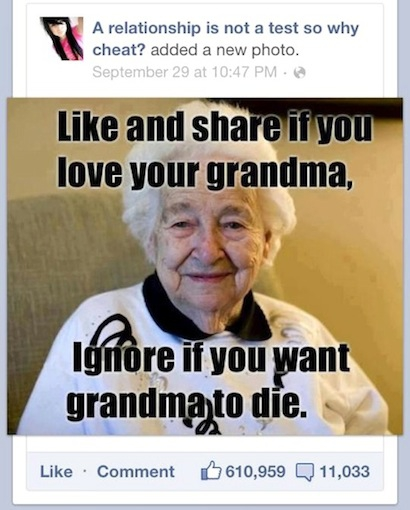 Share For Grandma