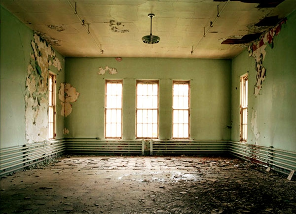 A Chilling & Intimate Look Inside An Abandoned Asylum
