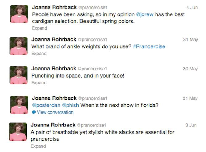 The Best Tweets From the 'Prancercise' Lady