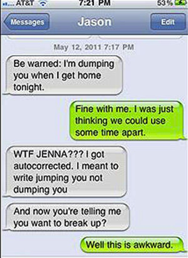 12 Hilarious Breakup Texts