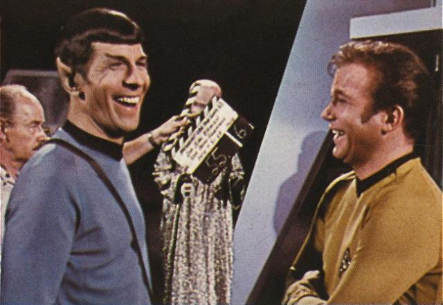 Leonard Nimoy and William Shatner (Star Trek: The Original Series – 1966)