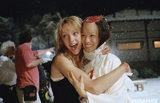 Uma Thurman and Lucy Liu (Kill Bill Volume 1 – 2003)